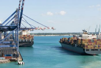 Bahamas-Trade-container port