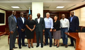 "[caption id=""attachment_87363"" align=""alignright"" width=""300""] Pictured, from left: Mr. Hubert Edwards, BCCEC Treasurer; Mr. Jeffrey Beckles, BCCEC CEO; Mrs. Khrystle Rutherford-Ferguson, BCCEC Chairperson; Prime Minister Minnis; Mr. Kenneth Hutton, President, Abaco Chamber of Commerce; Mrs. Nicole Campbell, Permanent Secretary, co-chair Disaster Relief and Recovery Committee; Mr. John Michael Clarke, co-chair Disaster Relief and Recovery Committee; and Captain Stephen Russell, Director, National Emergency Management Agency (NEMA). PHOTO: Yontalay Bowe[/caption] Prime Minister the Most Hon. Dr. Hubert Minnis emphasized the need to remove the red tape to ensure the rebuilding process on the islands of Abaco and Grand Bahama proceeds as quickly and efficiently as possible. Prime Minister Minnis was speaking at a meeting with the Bahamas Chamber of Commerce and Employers Confederation (BCCEC) on Thursday 19 September about rebuilding the islands affected by Hurricane Dorian. Chamber CEO Jeffrey Beckles assured the Prime Minister of the Chamber's commitment to work with the Government to rebuild the devastated areas of Abaco and Grand Bahama. Kenneth Hutton, President of the Abaco Chamber of Commerce informed the Prime Minister that close to 200 Abaco businessowners attended a meeting on Wednesday 18 September to discuss the rebuilding effort. Mr. Hutton said the businessowners are committed and eager to return to the island to begin the rebuilding process. Source: Office of the Prime Minister"