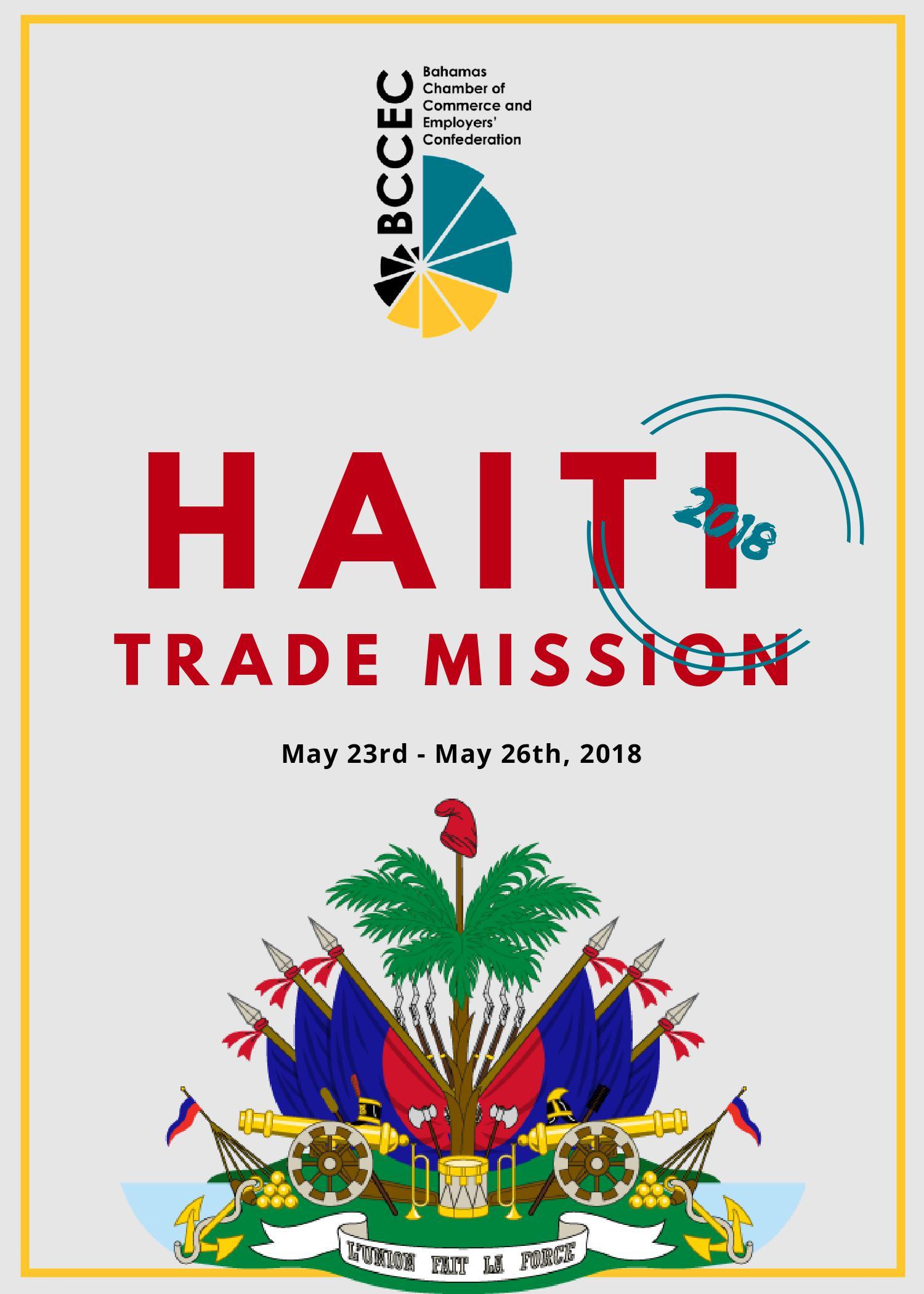 Haiti Trade Mission Flyer
