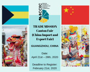 China Trade Mission April 2020
