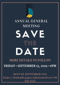 AGM Save The Date 2019