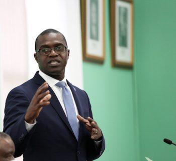 Minister Elsworth Johnson