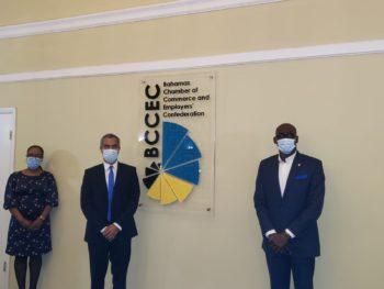 BCCEC CEO Meets with New Cuban Ambassador