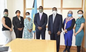 Bahamas Development Bank Executives Meet with Ministry of Financial Services
