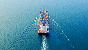 A strong global trade recovery with respect to pre-pandemic levels